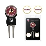 Washington Redskins Divot Tool Set of 3 Markers