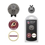 Washington Redskins 2 Marker Cap Clip