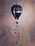 Penn State Nittany Lions Hot Air Balloon Spinner