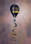 West Virginia Mountaineers Hot Air Balloon Spinner