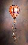 Clemson Tigers Hot Air Balloon Spinner