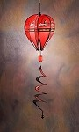 Louisville Cardinals Hot Air Balloon Spinner