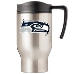 Seattle Seahawks Stainless Steel Travel Mugs