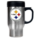 Pittsburgh Steelers Stainless Steel Travel Mug