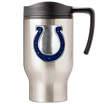 Indianapolis Colts Stainless Steel Travel Mugs