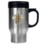 New Orleans Saints Stainless Steel Travel Mugs