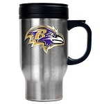 Baltimore Ravens Stainless Steel Travel Tumbler