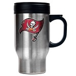 Tampa Bay Buccaneers Stainless Steel Travel Mugs