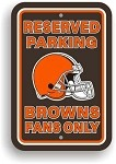 Cleveland Browns Parking Sign