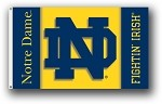 Notre Dame Fighting Irish 3x5 Double Sided Flags