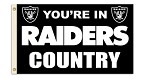 Oakland Raiders 3'x5' Flag
