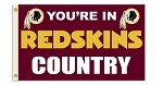 Washington Redskins 3'x5' Flag