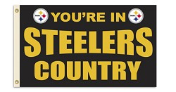 Pittsburgh Steelers 3'x5' Flag