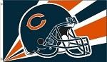 Chicago Bears NFL 3'x5' Helmet Flag