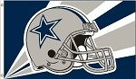 Dallas Cowboys NFL 3'x5' Helmet Flag