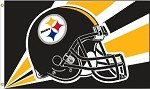 Pittsburgh Steelers NFL 3'x5' Helmet Flag