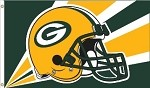 Green Bay Packers NFL 3'x5' Helmet Flag