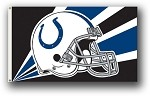 Indianapolis Colts NFL 3'x5' Helmet Flag
