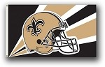 New Orleans Saints NFL 3'x5' Helmet Flag