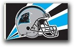 Carolina Panthers NFL 3'x5' Helmet Flag