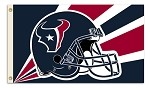 Houston Texans NFL 3'x5' Helmet Flag