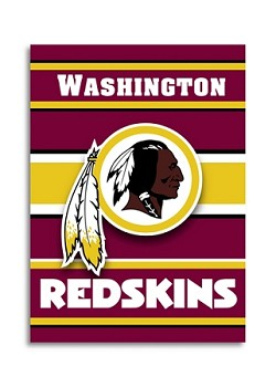 "Washington Redskins Double Sided 28""x40"" House Banner"