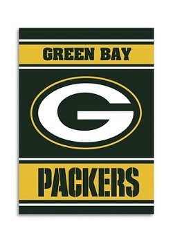 "Green Bay Packers Double Sided 28""x40"" House Banner"