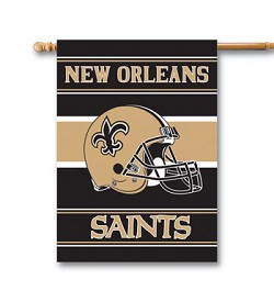 "New Orleans Saints Double Sided 28""x40"" House Banner"