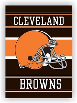 "Cleveland Browns Double Sided 28""x40"" House Banner"