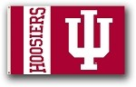 Indiana Hoosiers 3x5 Single Sided Flags