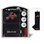 Atlanta Braves Embroidered Gift Set