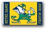 Notre Dame Fighting Irish 3x5 Single Sided Flags