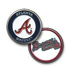 Atlanta Braves Double Sided Ball Marker
