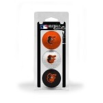 Baltimore Orioles 3 Ball Clamshell