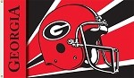 Georgia Bulldogs 3 Ft. X 5 Ft. Flag W/Grommets - Helmet Design