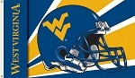 West Virginia Mountaineers 3 Ft. X 5 Ft. Flag W/Grommets - Helmet Design