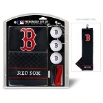 Boston Red Sox Embroidered Gift Set
