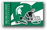 Michigan State Spartans 3x5 Single Sided Flags