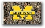Michigan Wolverines 3x5 Single Sided Flags