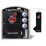 Cleveland Indians Embroidered Gift Set