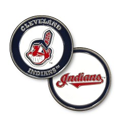 Cleveland Indians Double Sided Ball Marker