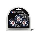 Cleveland Indians MLB Poker Chip Golf Gift Set