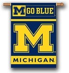 Michigan Wolverines Double Sided Outdoor Hanging Banner