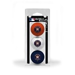 Houston Astros 3 Ball Clamshell