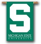 Michigan State Spartans Double Sided Outdoor Hanging Banner