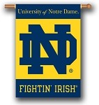 Notre Dame Fighting Irish Double Sided Outdoor Hanging Banner