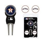 Houston Astros Divot Tool Set of 3 Markers