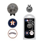 Houston Astros 2 Marker Cap Clip
