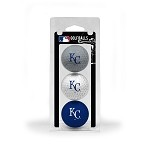 Kansas City Royals 3 Ball Clamshell