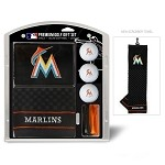 Miami Marlins Embroidered Gift Set